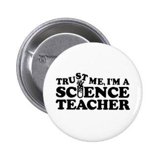 Science Teacher Buttons