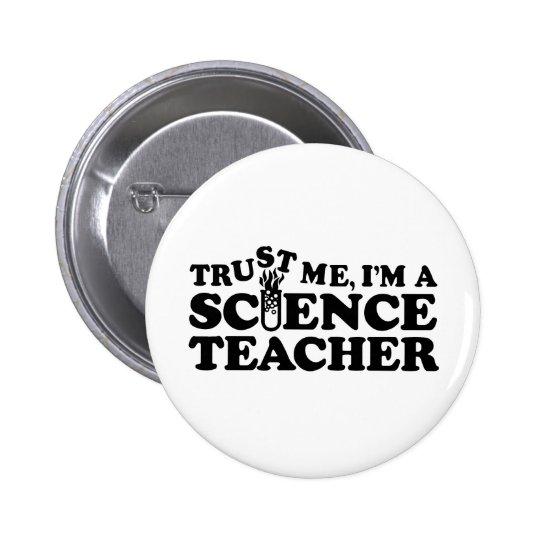 Science Teacher Button
