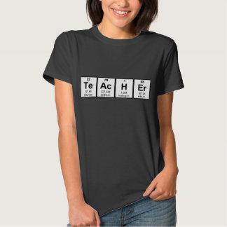 Science Teacher Chemical Elements T Shirt