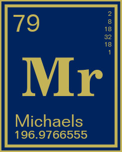 Periodic table name gifts on zazzle science teacher custom name periodic table navy neck tie urtaz Image collections