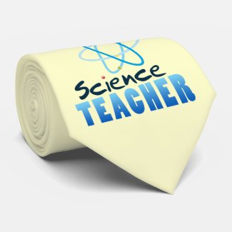 Science Teacher Custom Tie