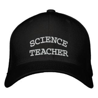 SCIENCE, TEACHER EMBROIDERED BASEBALL CAPS