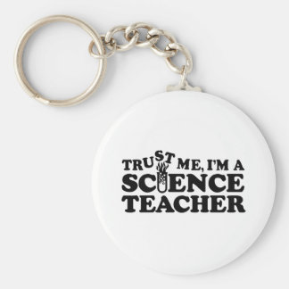 Science Teacher Keychain