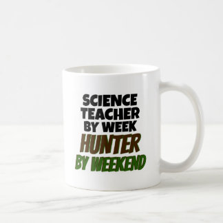 Science Teacher Loves Hunting Coffee Mug
