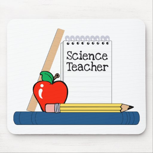 Science Teacher (Notebook) Mouse Pads