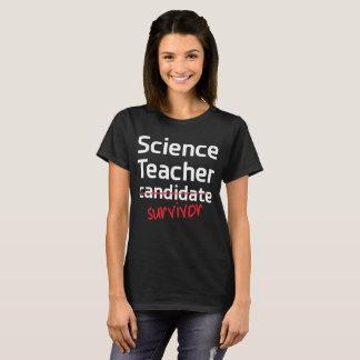 Science Teacher Survivor College Degree T-Shirt