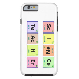 Science Teacher Tough iPhone 6 Case
