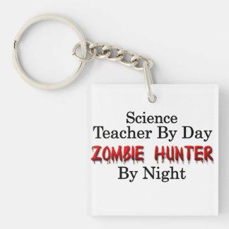 Science Teacher/Zombie Hunter Keychain