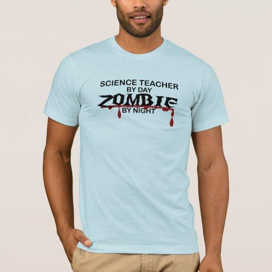 Science Teacher Zombie T-Shirt