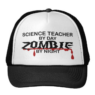 Science Teacher Zombie Trucker Hat