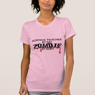 Science Teacher Zombie Shirt