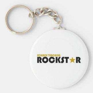 Science Teaching Rockstar Keychain
