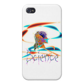 Science technicolor iPhone 4/4S cover