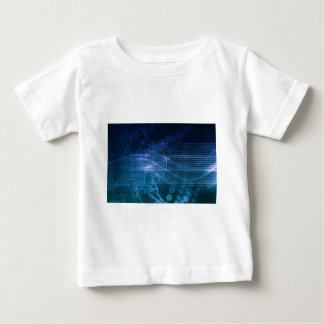 Science Technology Blue Baby T-Shirt