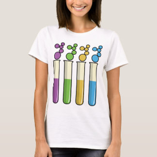Science Test Tubes T-Shirt