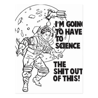 Science this postcard