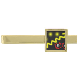 Science Will Set You Free Gold Finish Tie Clip