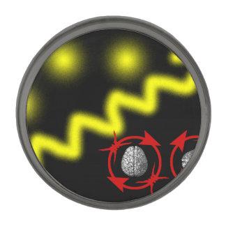 Science Will Set You Free Gunmetal Finish Lapel Pin