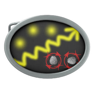 Science Will Set You Free Oval Belt Buckle