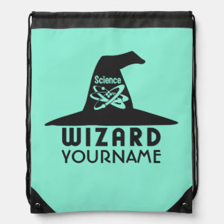 Science Wizard custom color bag Backpack
