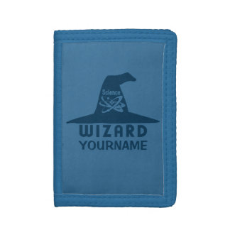 Science Wizard custom wallets