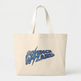 Science Wizard! Large Tote Bag