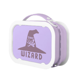 Science Wizard lunch boxes