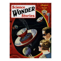 Science Wonder Stories Poster