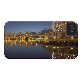 Science World and CBD reflected in False Creek, iPhone 4 Case-Mate Case