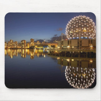 Science World and CBD reflected in False Creek, Mouse Pad