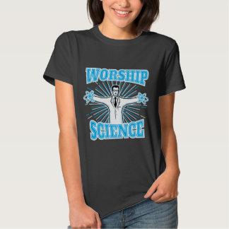 Science Worship Funny Geek & Atheist Anti-Religion T Shirt