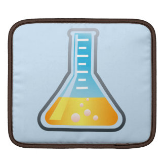 Science Yellow Flask Sleeve For iPads