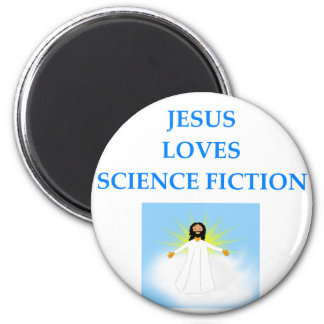 SCIENCEFICTION 2 INCH ROUND MAGNET