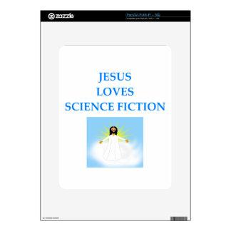 SCIENCEFICTION CALCOMANÍA PARA iPad