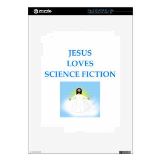 SCIENCEFICTION CALCOMANÍAS PARA iPad 2