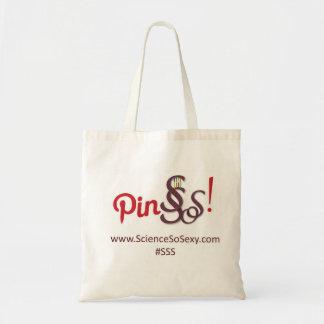 ScienceSoSexy tote bag - Pin SSS