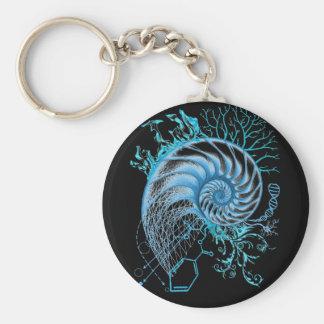 Scientia Button Basic Round Button Keychain