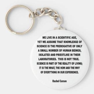 scientific age keychain