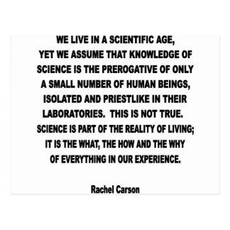 scientific age postcards