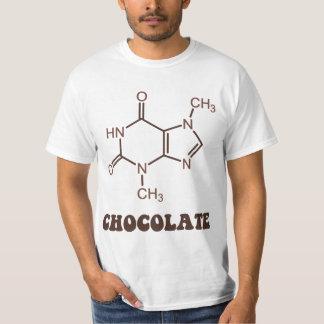 Scientific Chocolate Element Theobromine Molecule Tee Shirt