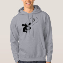 Scientific Cow Goes Mu Hoodie