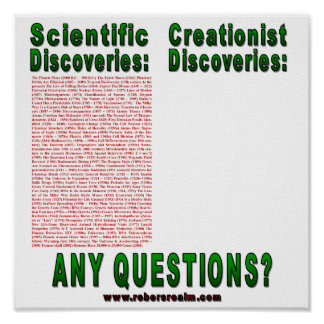 Scientific Discoveries Poster