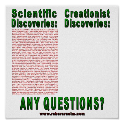 Scientific Discoveries Posters