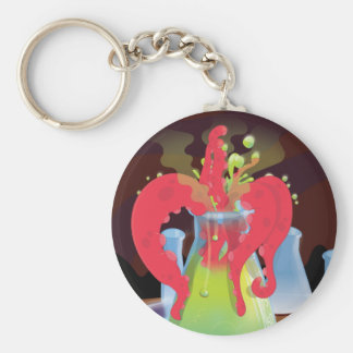 Scientific experiment flask Monster Keychain