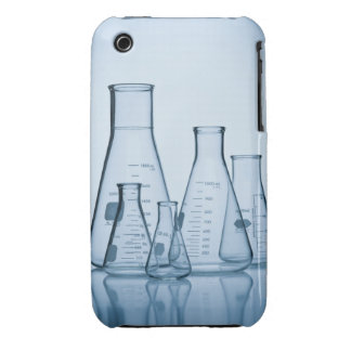 Scientific glassware blue Case-Mate iPhone 3 case