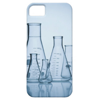 Scientific glassware blue iPhone SE/5/5s case