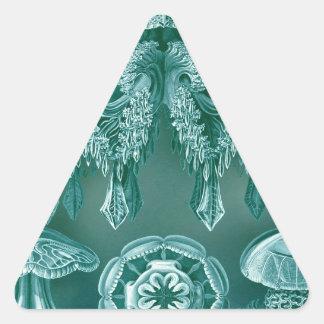 Scientific Jelly Vintage Illustration Triangle Sticker