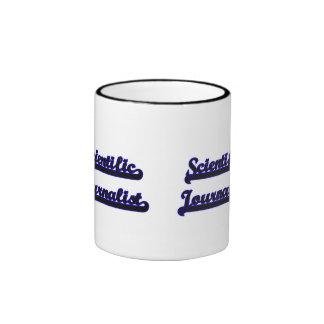 Scientific Journalist Classic Job Design Ringer Coffee Mug