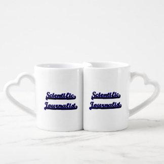 Scientific Journalist Classic Job Design Couples' Coffee Mug Set