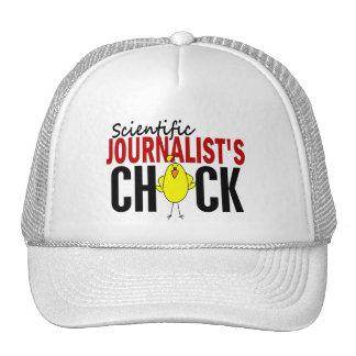 Scientific Journalist s Chick Trucker Hat